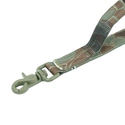 Leine mittel mit Molle und Karabiner Military Style - snake camo