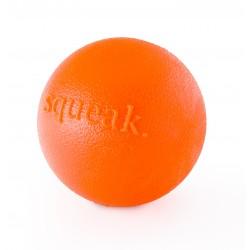 Planet Dog Squeak Ball - orange 7.5cm