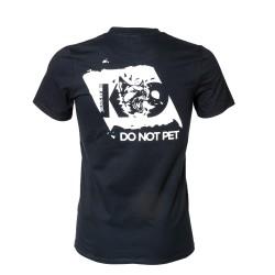 K9® - T-Shirt - schwarz Gr.XL - DO NOT PET