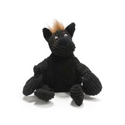schwarzes Kuschelmonster - HuggleMutt Tiny Knottie - S