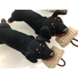 Rottweiler gehäkelt