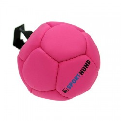 Sporthund Trainingsball 120mm - pink - schwimmend (Synthetikleder)