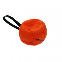 Sporthund Trainingsball 120mm - orange - schwimmend (Synthetikleder)
