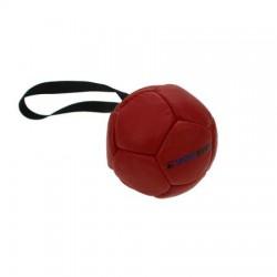 Sporthund Trainingsball 90mm - rot - schwimmend (Synthetikleder)