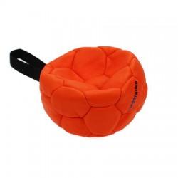 Sporthund Trainingsball 140mm - orange - schwimmen (Synthetikleder)