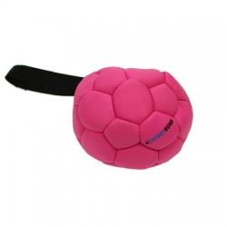 Sporthund Trainingsball 140mm - pink - schwimmend (Synthetikleder)