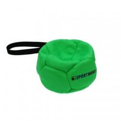 Sporthund Trainingsball 140mm - grün - schwimmend (Synthetikleder)