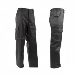 K9® - Zipp-Off Hundeführerhose - schwarz-schwarz - 46