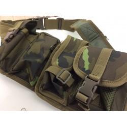 Hüftgurt mit 6 Taschen - M 95 CZ tarn