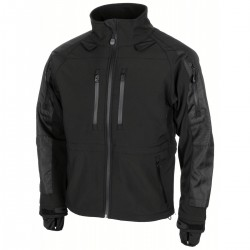 Softshell Jacke Protect - L - schwarz