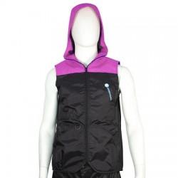 Hundeführerweste Easy Fashion 2.0. Pink mit Hoodie - M