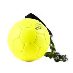Trainingsball Leder - Neongelb - 170mm