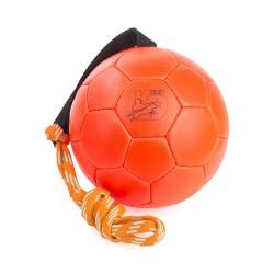Trainingsball Leder - Neonorange - 170mm