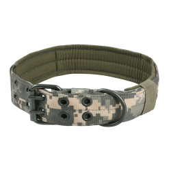 Halsband Military Style - XL - digital camo light