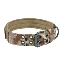 Halsband Military Style - XL - digital camo sand