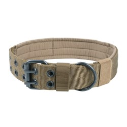 Halsband Military Style - L - coyote sand