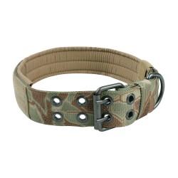 Halsband Military Style - M - snake camo