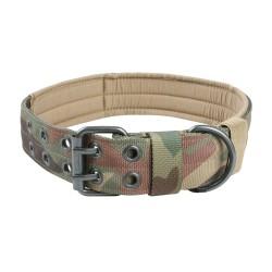 Halsband Military Style - XL - woodland camo
