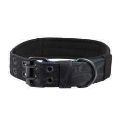 Halsband Military Style - L - snake camo black