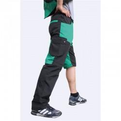 Hundeführerhose schwarz/grün - M