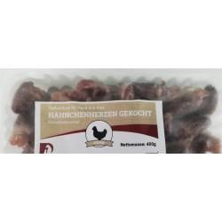 Hähnchenherzen gekocht 400g