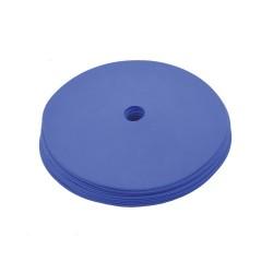 Floormarker klein 15cm Pro (10 Stk.) Training mit Loch - blau