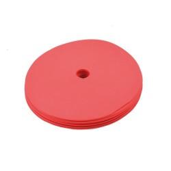 Floormarker klein 15cm Pro (10 Stk.) Training mit Loch - rot