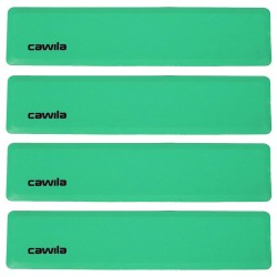 Floormarker Gerade 34x7.5cm - grün (4 Stk.)