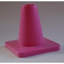 kleine schwere Pylone mit festem Stand - rosa