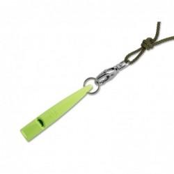 ACME Pfeife 210 1/2 mit Pfeifenband - limegrün
