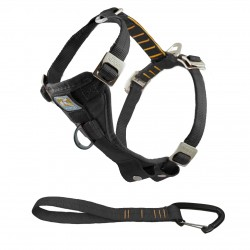 Enhanced Strength Tru-Fit Smart Harness - schwarz - S