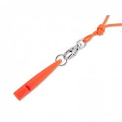 ACME Pfeife 210 mit Trill und Pfeifenband - neonorange