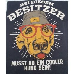 Bei diesem Besitzer musst du ein cooler Hund sein - XL