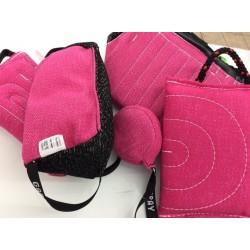 Beisskissen Allround - 3 Griffe - Sonderanfertigung pink