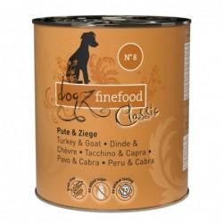 Dogz Finefood Pute und Ziege - 800g
