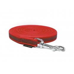 Gummierte Schleppleine 15mm rot 5m