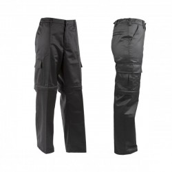 K9® - Zipp-Off Hundeführerhose - schwarz-schwarz - 56