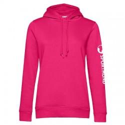 Sporthund Freestyle Hoodie Damen - Pink - XL