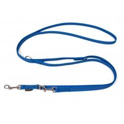 Gummierte Umhängeleine 15mm/250cm - Standard blau