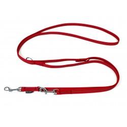 Gummierte Umhängeleine 15mm/250cm - Standard rot