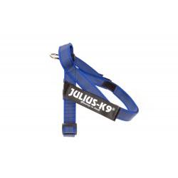 Gurtband Geschirr gummiert - IDC Sommer - Mini-Mini/blau