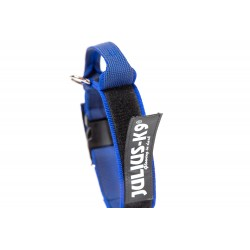 Gummiertes Halsband - Julius-K9 - 50mm - blau