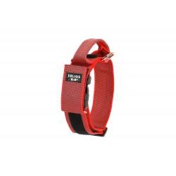 Gummiertes Halsband - Julius-K9 - 50mm - rot