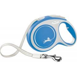 Flexi New Comfort 8m - L bis 50kg - Tape - blau