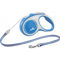 Flexi New Comfort 5m - S bis 12kg - Seil - blau