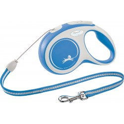 Flexi New Comfort 8m - M bis 20kg - Seil - blau