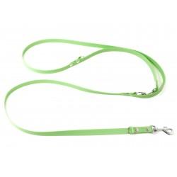 Biothane verstellbare Leine 13mm pastel grün 200cm