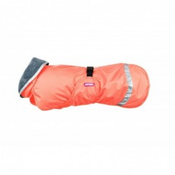 Kevyt Pomppa Hundemantel - 48cm - Papaya