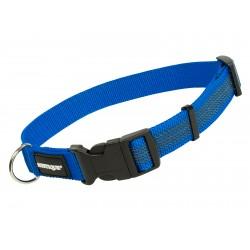 Mystique Gummiertes Halsband 25mm blau 50-60cm