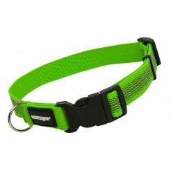 Mystique Gummiertes Halsband 25mm neon grün 50-60cm
